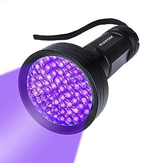 UV Flashlight Black Light, WJZXTEK 68 LED 395nm Ultraviolet Blacklight Detector for Dog Urine,Dry Stains,Bed Bug, Matching with Pet Odor Eliminator(Batteries Not Included) 20