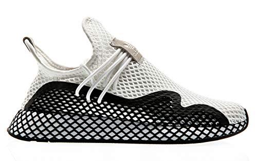 adidas Originals Deerupt S, Footwear White-Core Black-Footwear White, 5,5