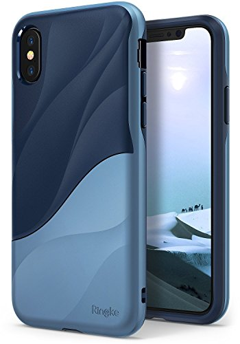 Ringke Wave Case Compatible with iPhone X, Phone Cover with Dual Layer...