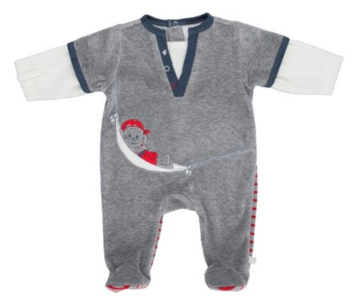Pyjama velours Bill & Friends NOUKIE'S - 9 mois