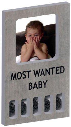 VER B.V. MFF0109 - MyFirst Most Wanted - Bilderrahmen mit Fingerabdruck - grau