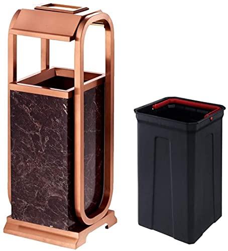 La basura puede el corredor del hotel del acero inoxidable del envase de la basura del cigarrillo, el cenicero del cigarrillo, el estilo moderno
