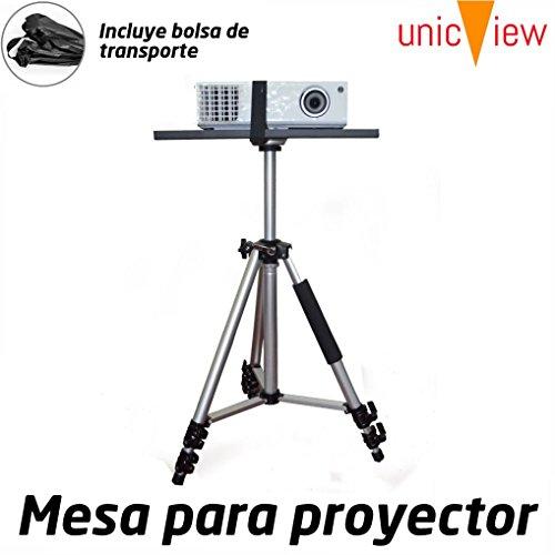 Mesa para proyector Plegable y portatil de Aluminio con Refuerzo Anti caidas...
