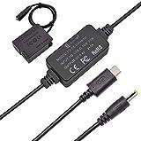 Gonine DMW-DCC8 - Acoplador de CC y adaptador de alimentación USB-C DMW-AC8 para cámaras Panasonic Lumix DMC-FZ2500 FZ1000 FZ300 FZ200 G85 GX8 G7 G6 G5 GH2 DC-G90 G95 G99