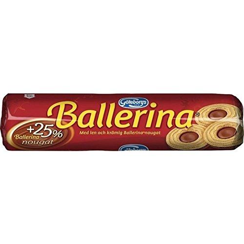 Goteborgs Ballerine Kex - Biscuits Fourrés De Nougat 190G - Paquet de 2