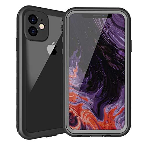 iphone 11防水ケース iphone 11カバー IP68規格 超強防水力 Qi充電対応 フェイスID 指紋認証対応 耐衝撃 防...