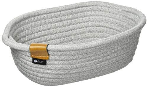 東洋ケース モック ライトグレー ロープバスケット S MOC-RPBS-LGY