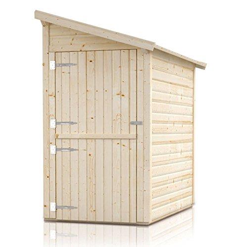 Anbauschrank 'Ordnung' - Ausführung: Ordnung 3, Außenmaß mit Dach: 280 x 124 cm, Außenmaß ohne Dach: 250 x 120 cm, Innenmaß: 242 x 116 cm