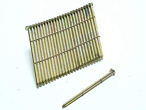 Bostitch S31090G8 - Clavo (galvanizado, 90mm, 2000 unidades)