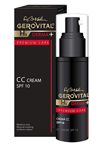 Gerovital H3 Derma+ Premium Care CC SPF 10 Premium Care für alle Hauttypen, 30 ml