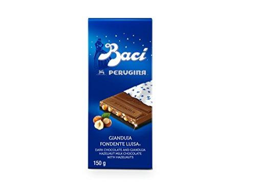 Perugina Baci - Dunkle Schokolade und Gianduja-Haselnuss-Milchschokolade mit Haselnüssen (150g)