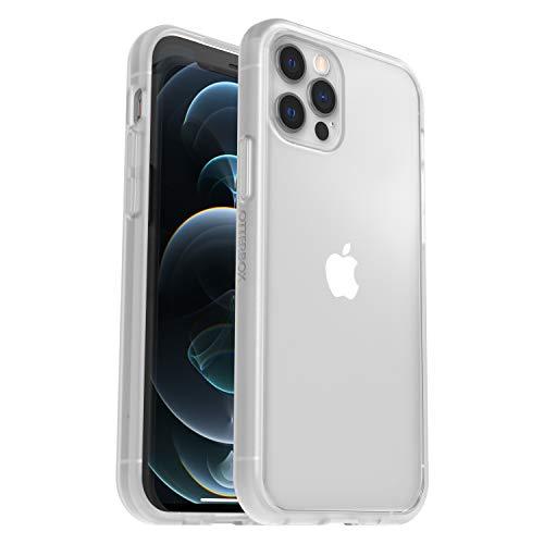 OtterBox Sleek Case - transparente, sturzsichere Schutzhülle für Apple iPhone 12 / 12 Pro, transparent (ohne Einzelhandelsverpackung)
