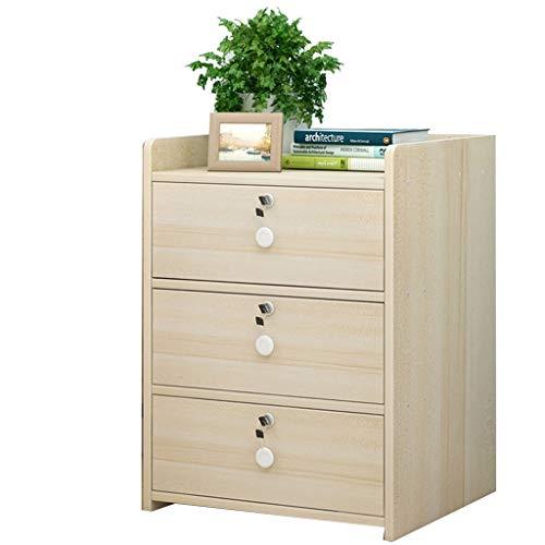 Casier en bois massif chevet armoire casier chambre table de chevet tiroir rangement armoire ouverte de stockage espace panneau de particules de stockage armoire en carton ondulé emballage