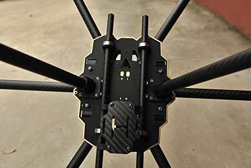SAUJNN FPV HMF S680 Carbon Fiber 6-Axis Solder PCB Folding Hexacopter Frame Kit with Landing Skid