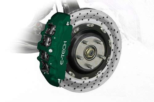 E-Tech Qualität British Racing Grün Auto Motorraum Block Ventil Cover Bremssattel Paint Kit