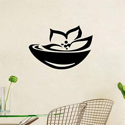 Tianpengyuanshuai Lotus Muurtattoo Aziatische Spa Logo Muursticker Decoratie van het huis woonkamer slaapkamer muur kunst