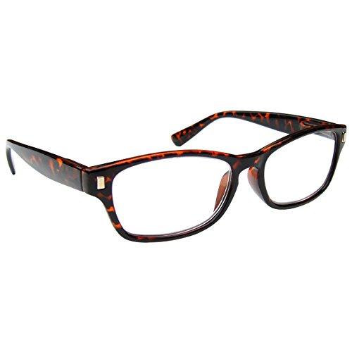 The Reading Glasses Company Die Lesebrille Unternehmen Braune Schildpatt Leser Herren Frauen R10-2 +1, 50 / braune Schildpatt