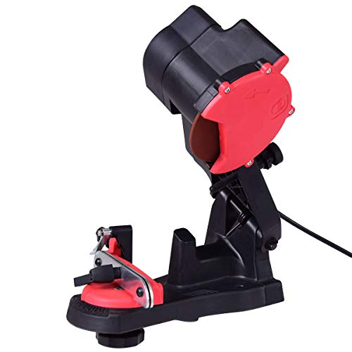 Toolsempire Electric Chainsaw Sharpener Portable Bench Mounted Saw Chain Grinder