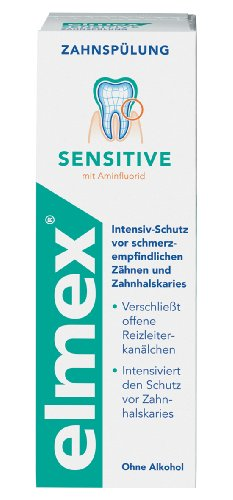 elmex SENSITIVE tandspoeling, 400 ml