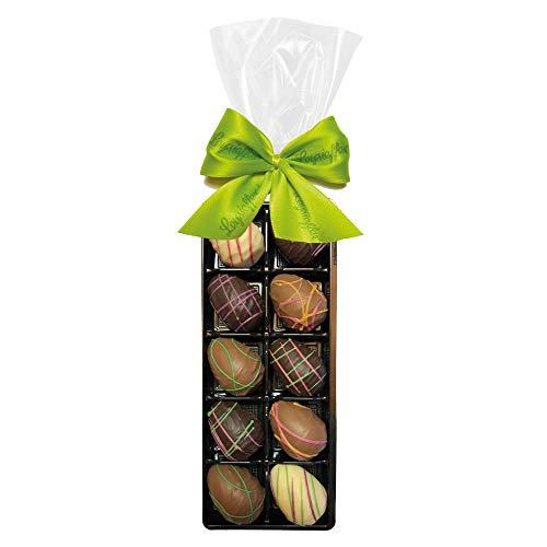 Leysieffer - Schokoladen-Nougat-Eier im Oster-Klarsichtbeutel - 140 g