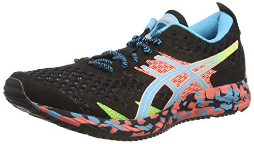 ASICS Damen Gel-Noosa Tri 12 Running Shoe, Black/Aquarium, 37 EU