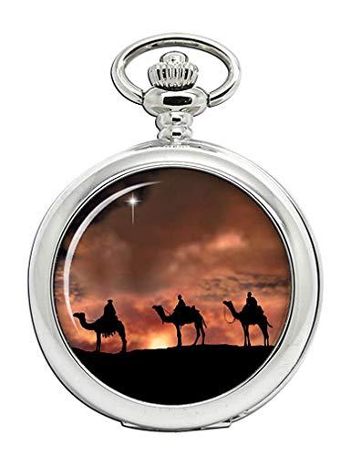 The Magi Reloj Bolsillo Hunter Completo