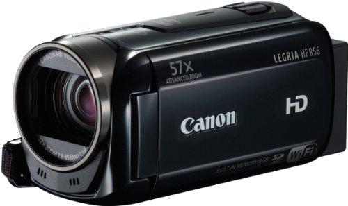 Canon LEGRIA HF R56 HD-Camcorder (7,5cm (3 Zoll) Touchscreen-LCD, 3,2 MP,CMOS, 32 fach opt. Zoom) schwarz