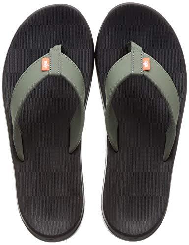 Nike Men's Kepa Kai Thong Sandal (9, Vintage Lichen/White-Black)