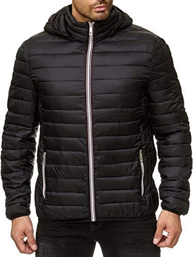 Solor Solor Simple Jacket, chaqueta gruesa delgada rayada