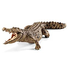 Individually crafted and highly detailed A moveable lower jaw allows you to check out the crocodile's razor sharp teeth! Crafted from high quality plastic Individually detailed with the characteristics of a living salt water crocodile With this figur...