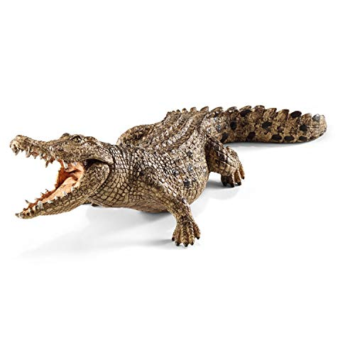 Schleich Wild Life Crocodile Educational Figurine for Kids Ages 3-8