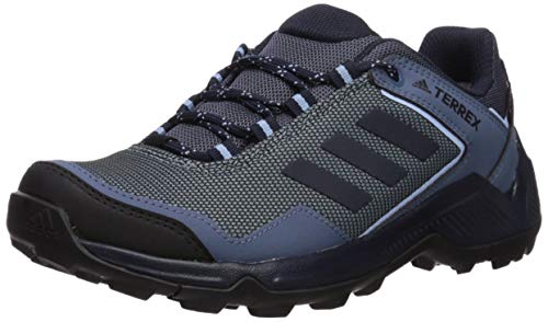 adidas Outdoor Damen Terrex Eastrail GTX, Eschengrau/Legend Ink/Glow Blue, 35.5 EU