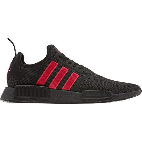 Adidas NMD_R1, Zapatillas de Deporte Hombre, Multicolor (Negbás/Rojsho/Amalre 000), 40 2/3 EU