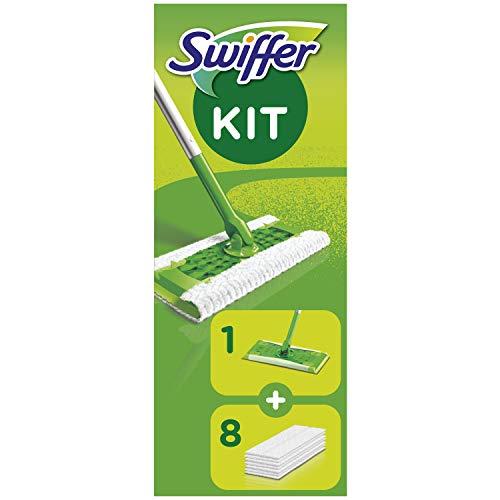 Swiffer Bodenwischer Starterset 1 Bodenwischer + 8 Trockene Bodentücher