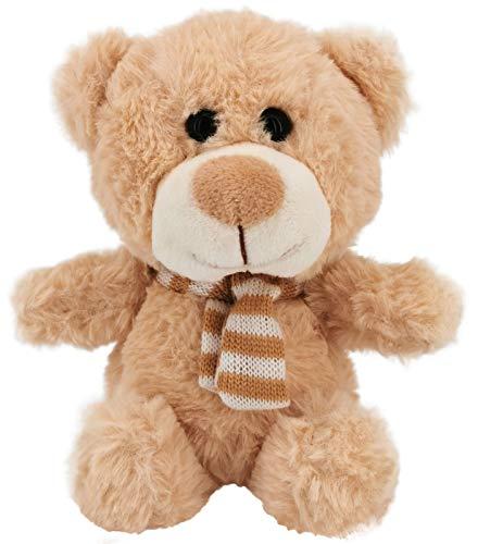 My-goodbuy24 Teddybär Kuscheltier Plüschtier Stofftier Kuschelbär Kleiner Teddy Bär | Größe: 23cm und sehr weich - beige