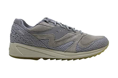 Saucony Mens Grid 8000 Low Top Lace Up Zapatillas de moda