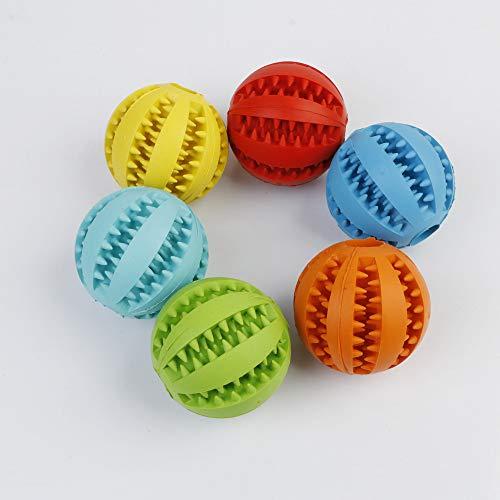 Hunde Und Katzen Haustier Gummi Spielzeug Lecken Futter Ball Backenzähne Bissbeständige Minze Aroma Ball Haustier Liefert