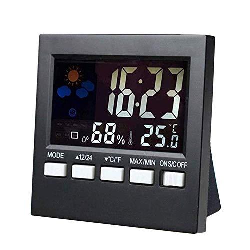 Adesign Raumthermometer, Feuchtigkeitsmessgerät, Hygrometer, Monitor Temperatur und Feuchtigkeit Meter for Haus, Büro, Baby-Kinderzimmer Zimmerkomfort