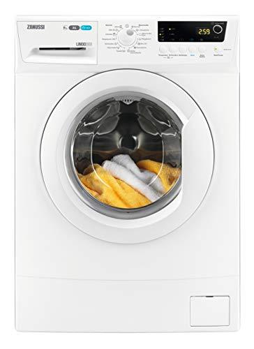 Zanussi ZWS61210V Kompakte Waschmaschine mit nur 420 mm Tiefe / 6,0 kg / Kindersicherung / 1.200 U/min