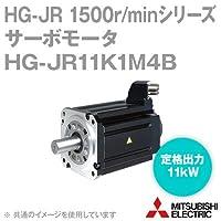 三菱電機(MITSUBISHI) HG-JR11K1M4B サーボモータ HG-JR 1500r/minシリーズ 400Vクラス 電磁ブレーキ付 (低慣性・大容量) (定格出力容量 11kW) NN