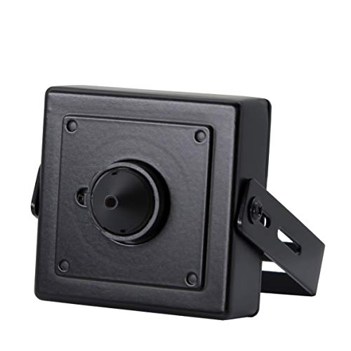 2.4MP Pinhole CCTV Camera, 3.7mm Pinhole Mini Lens, HD TVI/CVI/AHD/960H Output, Hidden Spy CCTV Surveillance Security System-Switchable Output