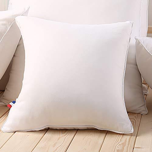 Huishoudelijke Kussenslopen, 100% Polyester Binnenbedden En Sofa Vierkante Decoratieve Kussens, Superzachte En Ademende Ondersteuningskussens In Verschillende Maten,45×45cm