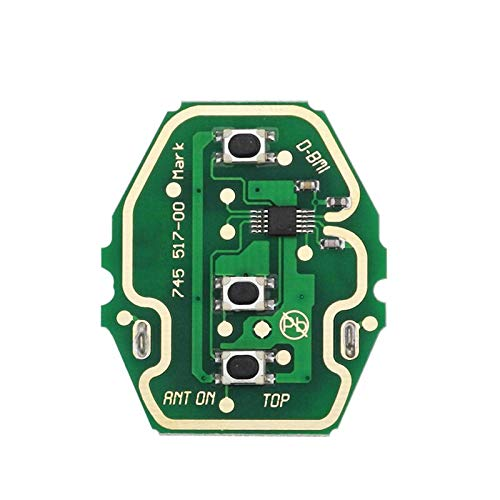 EWS Sytem Car Remote Key for BMW E38 E39 E46 X3 X5 Z3 Z4 1/3/5/7 Series 315/433MHz ID44 Chip Keyless Entry Transmitter oneboardnoChip