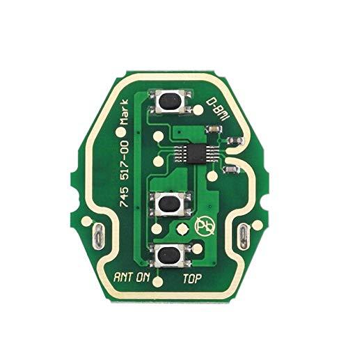 EWS Sytem Car Remote Key para BMW E38 E39 E46 X3 X5 Z3 Z4 1/3/5/7 Series 315 / 433MHz ID44 Chip Transmisor de Entrada sin Llave oneboardnoChip