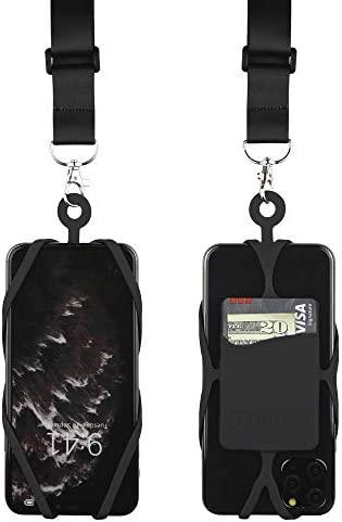 Gear Beast Cell Phone Lanyard with Adjustable Neck Strap Compatible with iPhone Galaxy Most product image