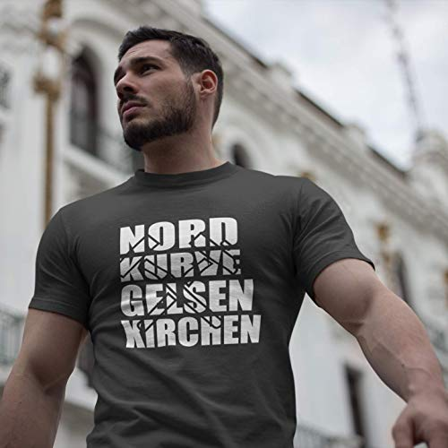 World of Football T-Shirt Gelsenkirchen Nordkurve - XL