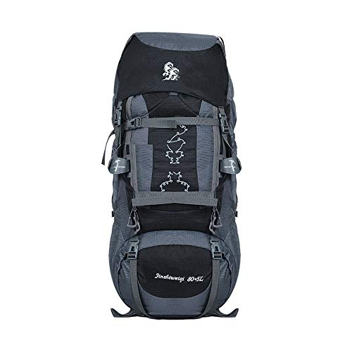 LXXYJ 80L High-Performance Backpacks,Unisex Lightweight Frame...