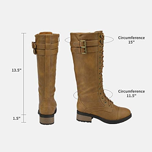 Camel leather boots _image4