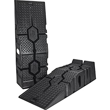 RhinoGear 11912ABMI RhinoRamps MAX Vehicle Ramp - Pair (16,000lb. GVW Capacity)