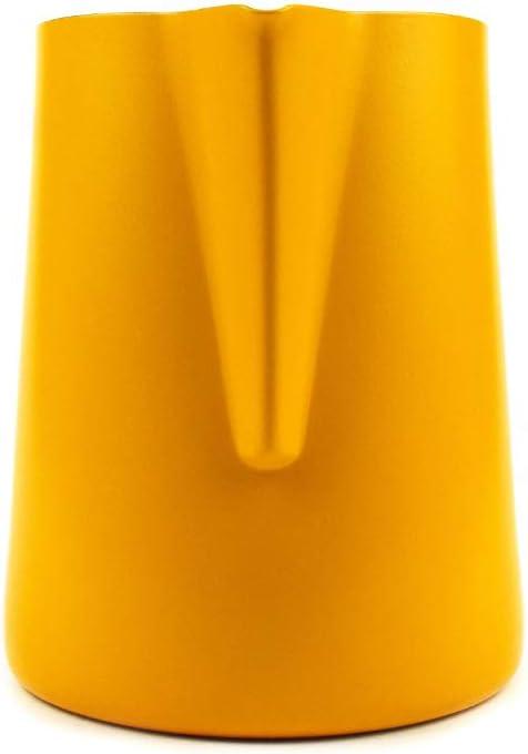 vaso para cafetera MIGHTYDUTY Jarra de leche de acero inoxidable 350//600 ml espumador de leche